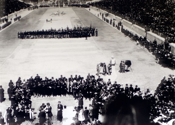 The First Modern Olympic Games The Panathenaic Stadium